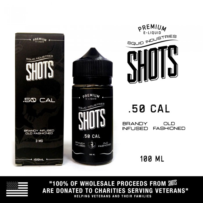 Squid Shots .50 Cal - 100ml (MSRP$25)