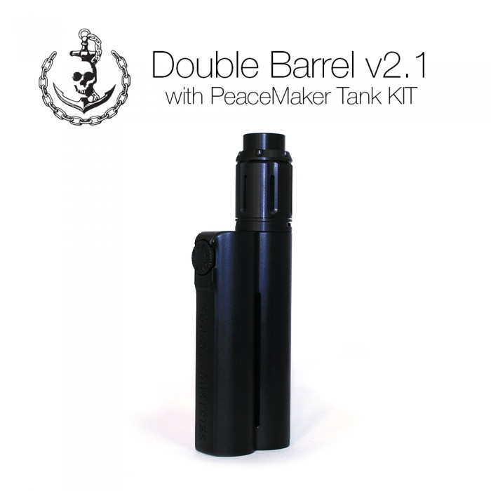Double Barrel V2.1 Kit - 150W Mod with PeaceMaker Tank