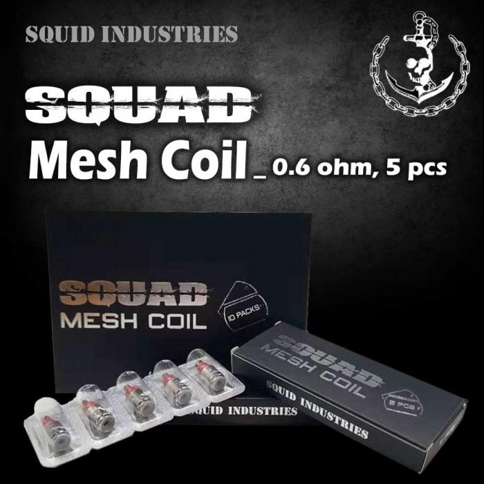 Squad Mesh Coil [ 0.6 ohm, 5 pcs ]