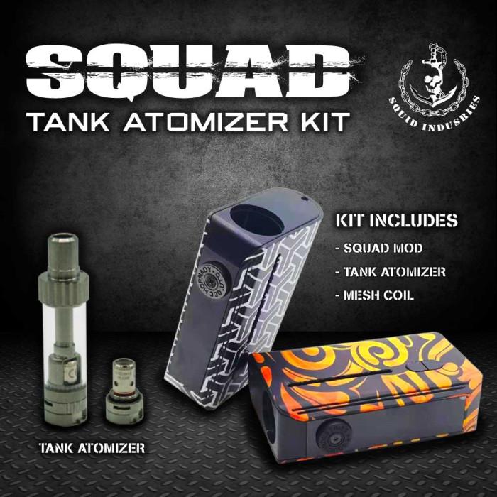 Squad _ Tank Atomizer Kit 1300mAh
